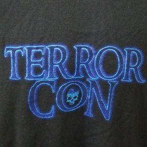 Terror Con T-Shirt Black Size L